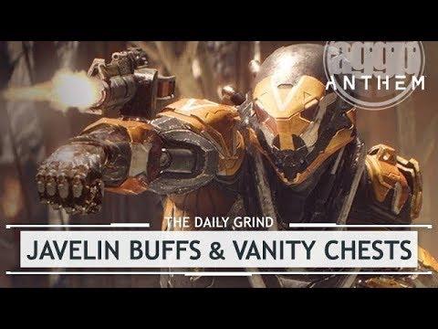 Anthem: Javelin BUFFS & Stronghold Vanity Chests - Feb 20th Devstream