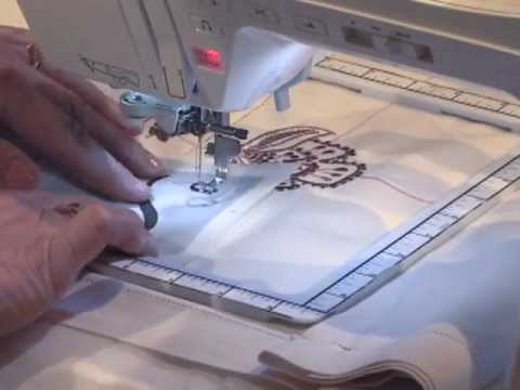 Continuous Machine Embroidery