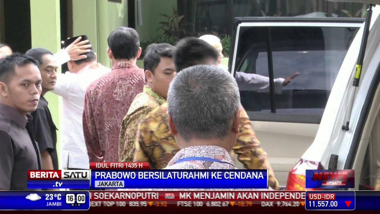 Prabowo Subianto Silaturahmi Ke Rumah Mantan Istri