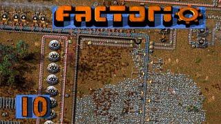 FACTORIO 🚂 Noch mehr Eisen und Monster Unsinn ► #10 S04 Fabrik Aufbau Simulation deutsch german
