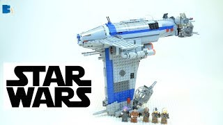 Lepin 05129 Star Wars Resistance Bomber Unofficial LEGO