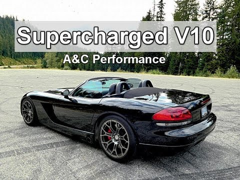 870 WHP Supercharged Dodge Viper SRT-10 - Simple and Brutal (Review)