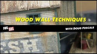 Detailing A Wood Wall For Craftsman Structures With Doug Foscale