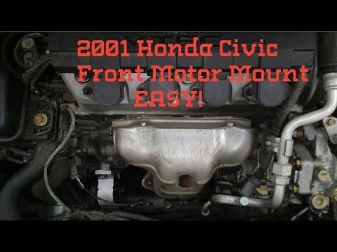 2000-2003 Honda Civic Front Motor Mount Replacement