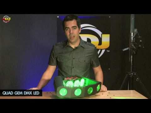 American DJ - Under the Hood Quad Gem DMX vs. Hyper Gem LED