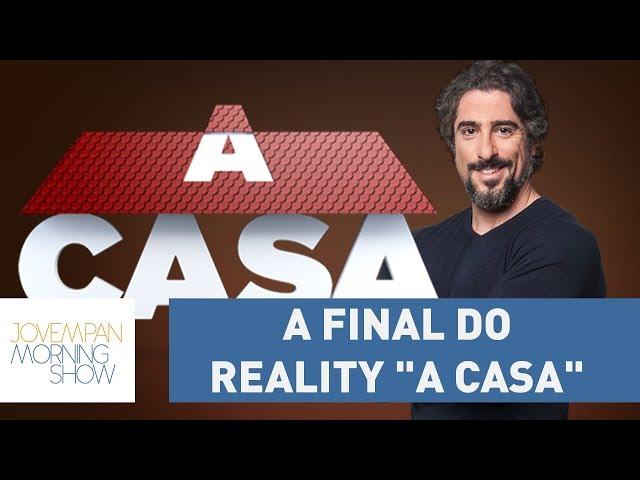 """Vinicius Moura comenta a final do reality """"A Casa""""   Morning Show"""