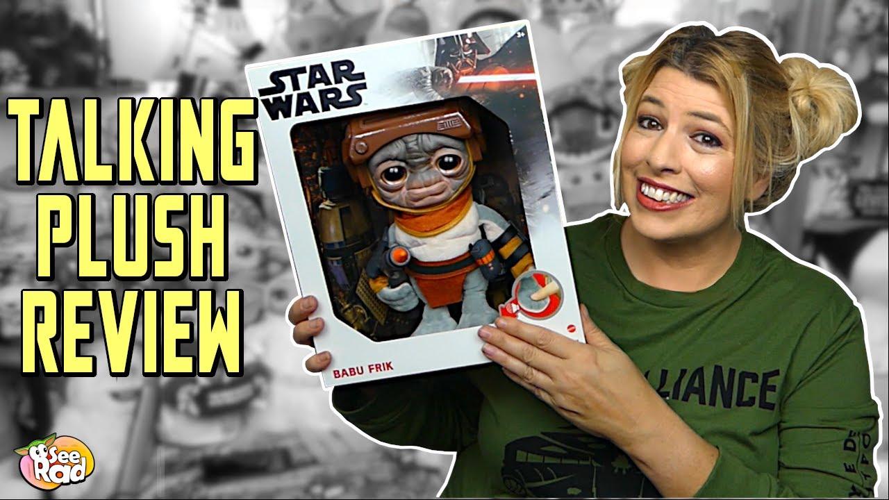 Target Exclusive Star Wars Talking BABU FRIK Plush 9/'/' Mattel