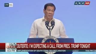 Worried Duterte warns Trump not to play into Kim Jong-Un's mind