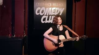 """Captain Katie"" Robinson Standup at Greenwich Village Comedy Club NYC"