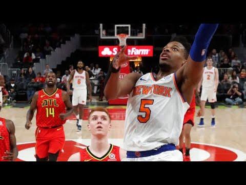 Full Game Recap: Knicks vs. Hawks Highlights | Dennis Smith Jr. CRAZY 19 Pt Game | 2.14.2019
