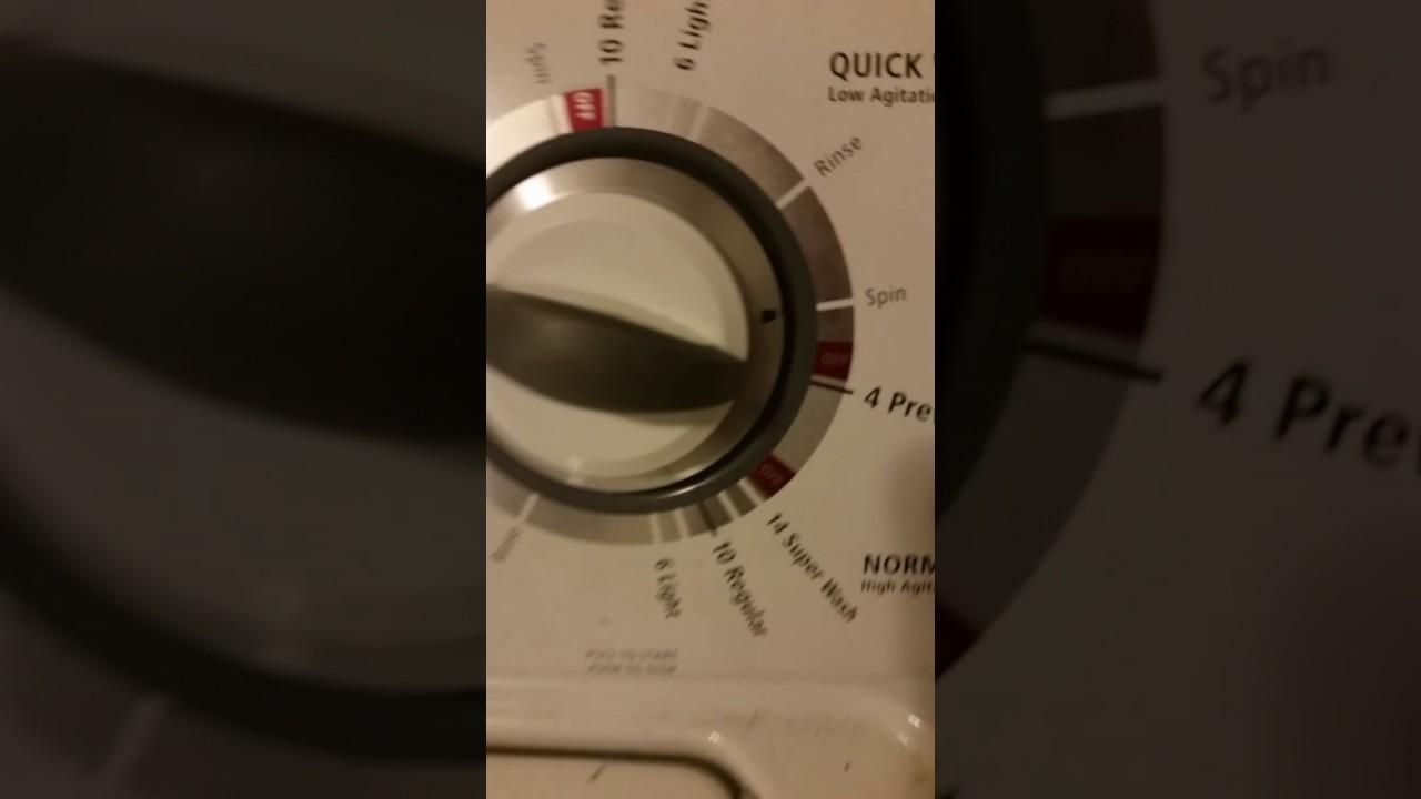Whirlpool Washer Off Balance Spinning Zef Jam