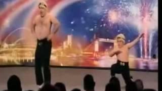 Stavros Flatley Britains got talent 2009 show 1
