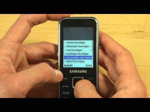 Samsung C3530 Test Bedienung