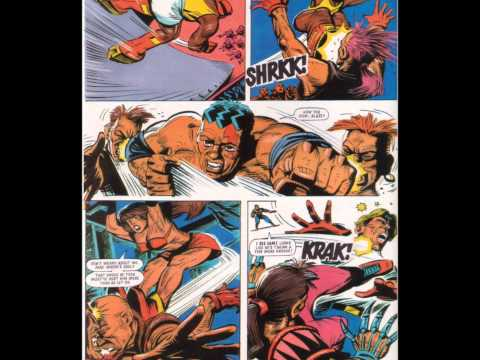 """Sega's Streets of Rage Comic Strip III: """"The Only Game In Town!"""" (HD)"""
