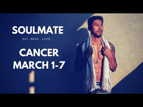 "CANCER SOULMATE ""THEY'RE COMING, THRILLER "" MARCH 1 7 WEEKLY LOVE TAROT READING"