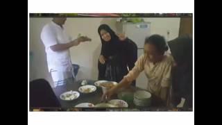 Tasya - ketupat lebaran ( mudik kudus 2017)