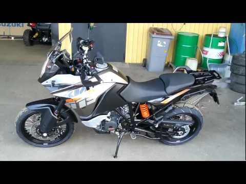 Checking out my friends brand new KTM 1190 Adventure 2013
