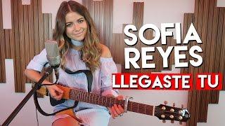 Sofia Reyes - Llegaste tu (acústico en Radio Disney)