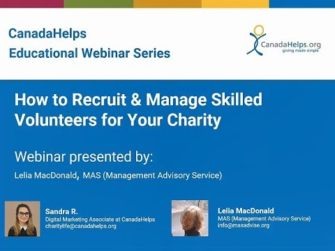 How to Recruit and Manage Skilled Volunteers for Your Charity