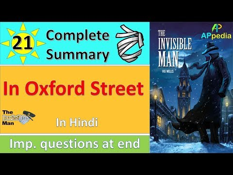 The Invisible Man | Ch 21 | In Oxford Street | In Hindi