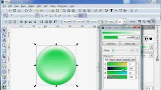 Inkscape Button GUI design (easy steps)