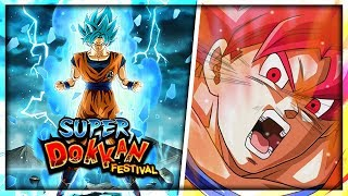 Insane *NEW* SSJ Goku multi summons! I can't stop pulling fire! | Dragon Ball Z Dokkan Battle