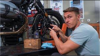 How To Bleed Y๐ur Motorcycle Brakes | MC Garage