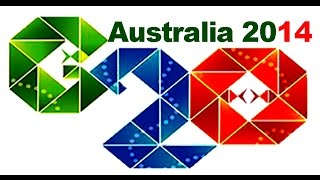 G20 Brisbane - the moment of the leaders arrival