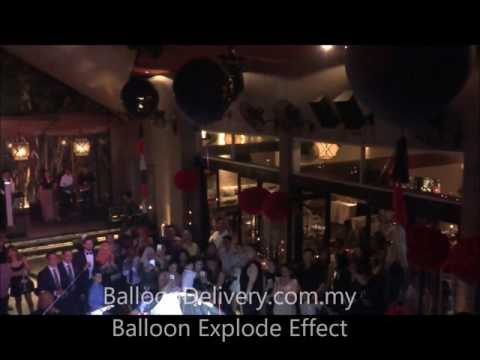 Balloon Explode Effect