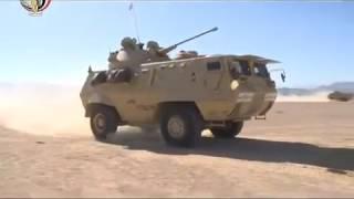 القوات المسلحة تنفذ تدريبا بإنزال وحدات ميكانيكية ومدرعة على
