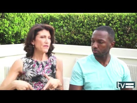 "Bosch Season 2 Interview:  Amy Aquino ""Lt Grace Billets"" & Jamie Hector ""Jerry Edgar"""
