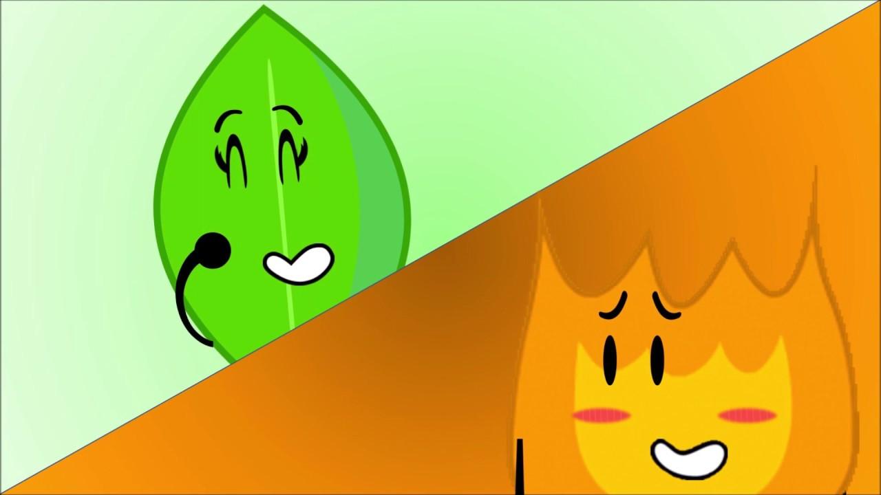 Object Shorts - Firey x Leafy Falling In Love