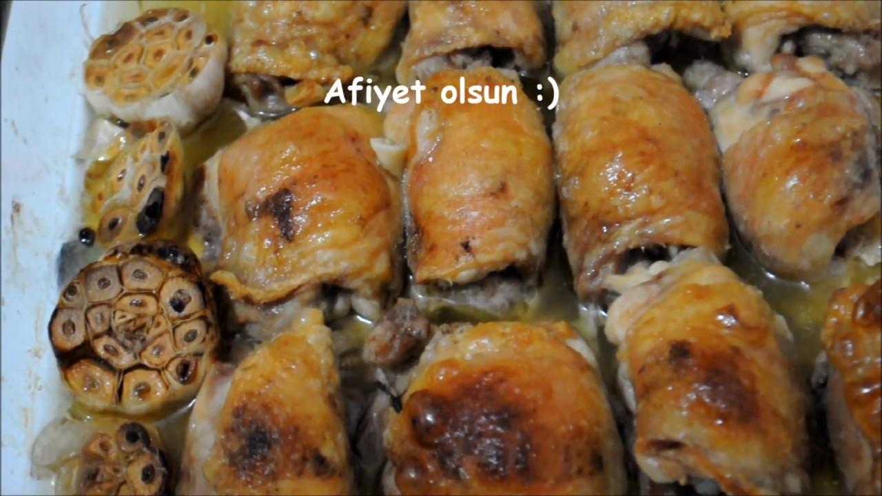 Fırında Tavuk Sarma