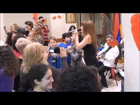 Takuhi  & Erebuni Band - Garun Garun ( GREECE) Komotini ,AGBU PLOVDIV