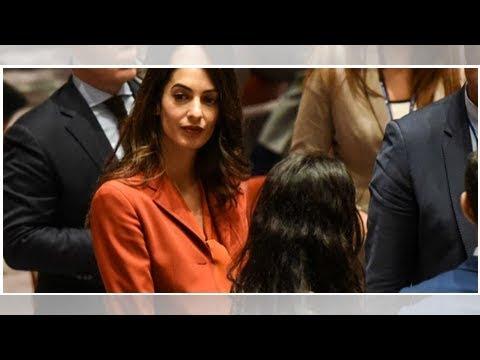 Amal Clooney To Represent Reuters Reporters Held In Myanmar