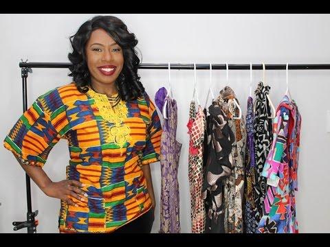 African/Ankara Print Thrift Haul| Gorgeous Prints| Black History Month