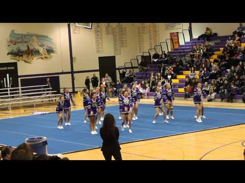 Rolling Meadows Varsity Cheer @ Sectionals 2014