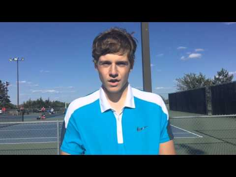 Collegiate Sophomore Easton Ewy Defended His 3-2-1A Regional Singles Title By Beating Hesston's Co