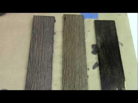 Rundown - Ebonizing Wood  Follow Up