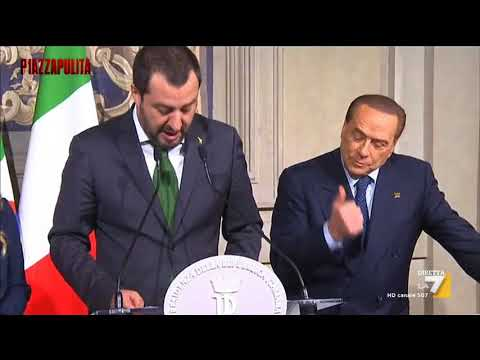 Berlusconi show al Quirinale