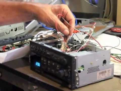 Delco Radio Aux input - YouTube