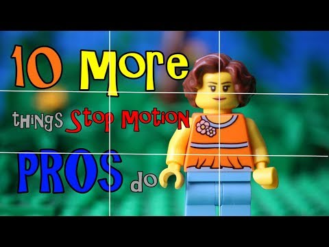 10 MORE Things Stop Motion Pros Do