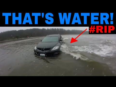 SUV TRAGICALLY SWEPT Into Ocean After Getting Stuck On Beach - NOT CLICKBAIT :(
