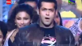 Salman Khan 's Performance at 55th Filmfare Awards 2010 *HQ*