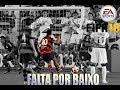 FIFA 18 TUTORIAL - FALTA POR BAIXO DA BARREIRA  ( A LA RONALDINHO GAUCHO )