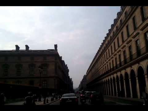 Rue de Rivoli/paradise city Paris