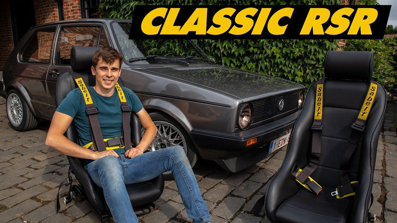 Golf Mk1 Retro Bucket Seat Install (Cobra RSR)