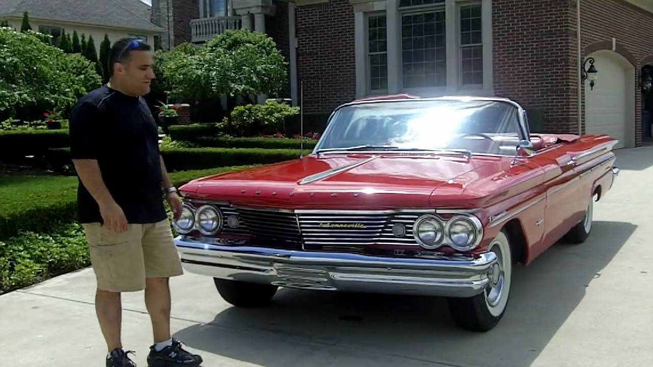 1960 Pontiac Bonneville Convertible Classic Muscle Car for Sale in ...