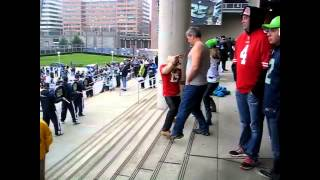 NFC Championship 2014 Pre-Game Dance Off 49er vs. Seahawks Thumbnail