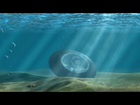 Large Disc Shaped Objects / UFOs / USOs Found In The Ocean?  Hqdefault
